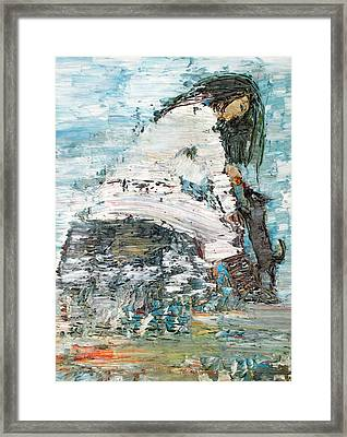 Feeding Willy Framed Print by Fabrizio Cassetta