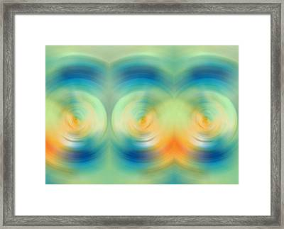 Feel Joy - Energy Art By Sharon Cummings Framed Print by Sharon Cummings