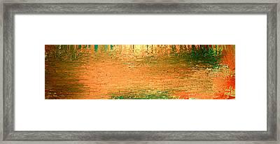 Feel Me Flow Framed Print by Cyryn Fyrcyd