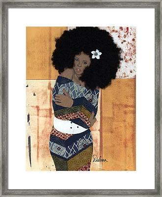Feel My Soul Framed Print by Delvon
