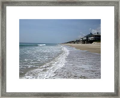Feel The Beach Framed Print