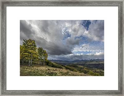 Feel The Clouds Framed Print by Jon Glaser