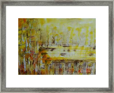 Feel The Heat Framed Print by Veronica Rickard
