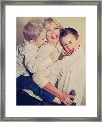 Feel The Joy Framed Print