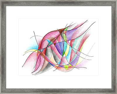Feel The Perfect Timing Framed Print