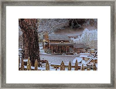 Framed Print featuring the photograph Feel The Warmth by Brenda Bostic