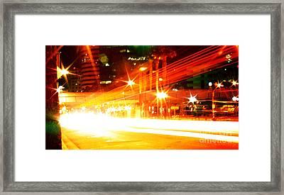Feel You From The Inside Framed Print by Kyle Walker