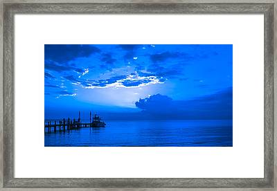 Framed Print featuring the photograph Feeling Blue by Phil Abrams