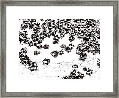 Feeling Crabby Framed Print by Wade Brooks