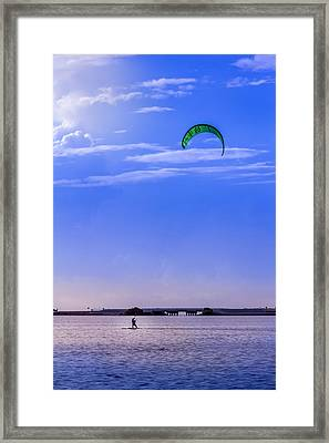 Feeling Free Framed Print