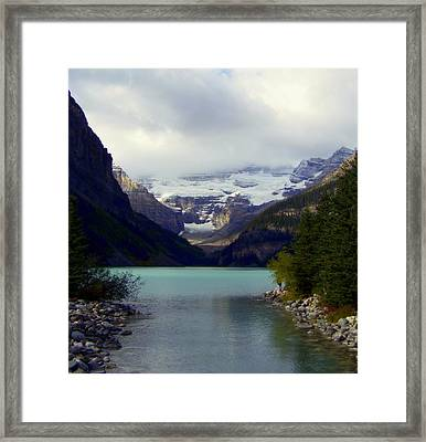Feeling Him Near Framed Print by Karen Wiles