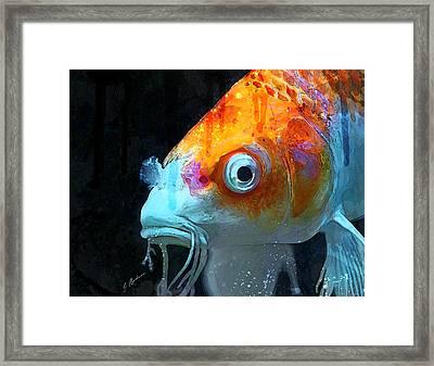 Feeling Koi Framed Print by Gary Bodnar