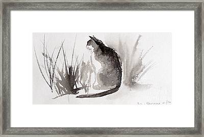 Feeling Lonely  Framed Print