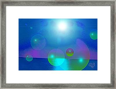 Feeling Of Being Framed Print