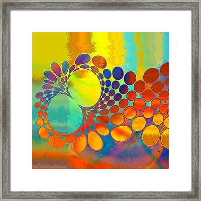 Feeling Owly? Framed Print by Constance Krejci