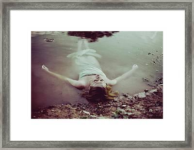 Feeling Purity Framed Print