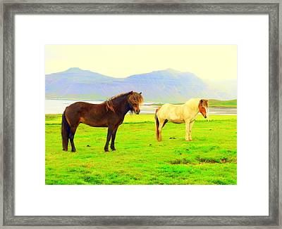 We Were Feeling So Free But We Knew Nothing About The Future  Framed Print