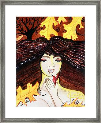 Feeling The Time Pass Framed Print by Ohso Faboolus