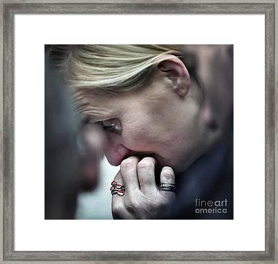 Feelings Framed Print by Michel Verhoef