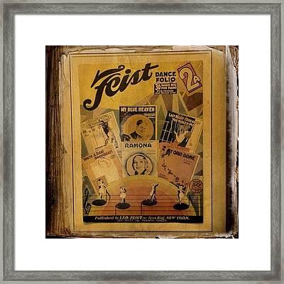 Feist Dance Folio Framed Print