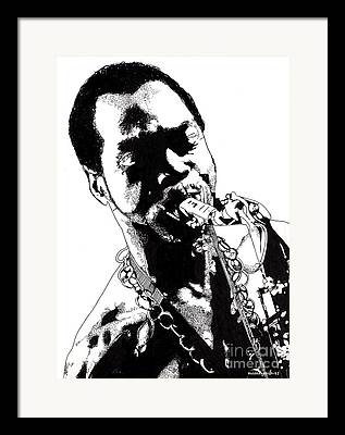 First Black President Framed Prints