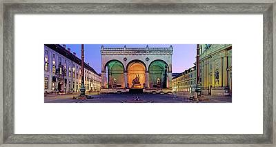 Feldherrnhalle Field Marshalls Hall Framed Print by Panoramic Images