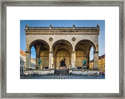 Feldherrnhalle Framed Print