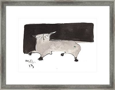 Feles No. 2  Framed Print by Mark M  Mellon