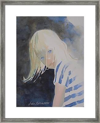 Felicia Framed Print