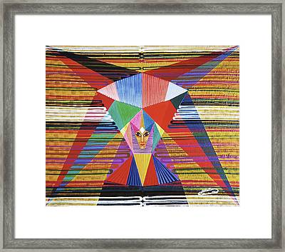 Felicite-felicity Framed Print by Michael Bellon