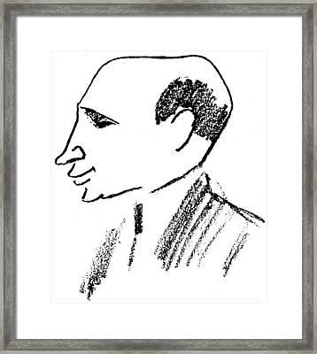 Felix Deutsch (1884-1964) Framed Print