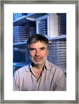 Felix Rey, French Virologist Framed Print