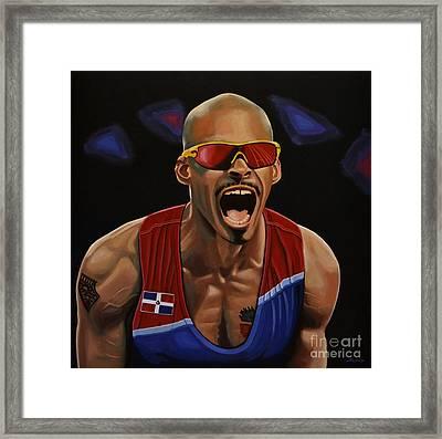Felix Sanchez Framed Print