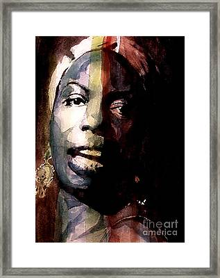 Felling Good  Framed Print by Paul Lovering