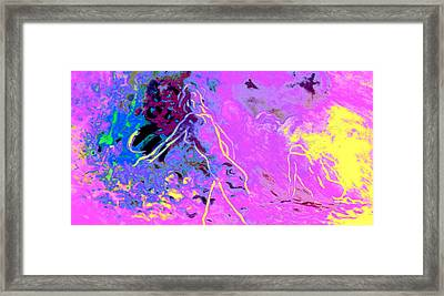 Female And Male Aspects Within Framed Print