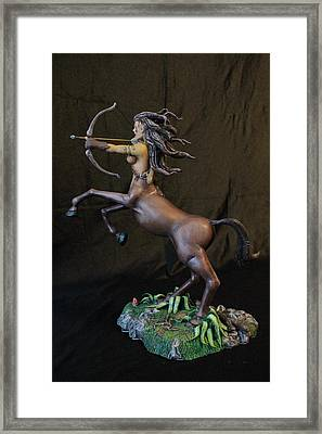 Female Centaur Framed Print by Mark Harris