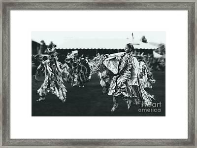 Female Fancy Dancer Framed Print by Scarlett Images Photography