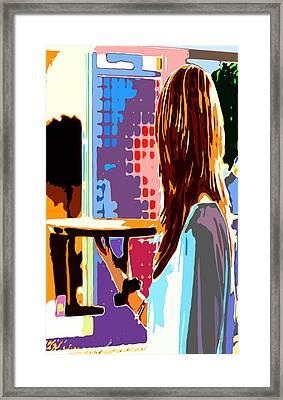 Female Form 31 Framed Print