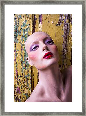 Female Mannequin Framed Print