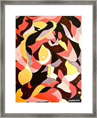 Female Nude Framed Print