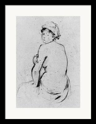 Morisot Drawings Framed Prints