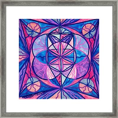 Feminine Interconnectedness Framed Print