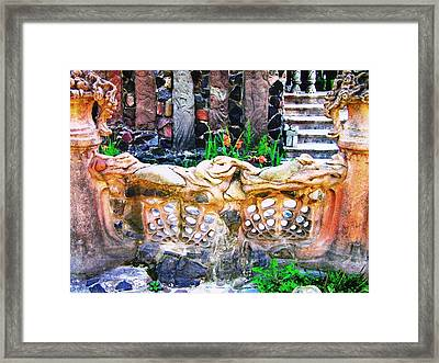 Fence Framed Print by Oleg Zavarzin