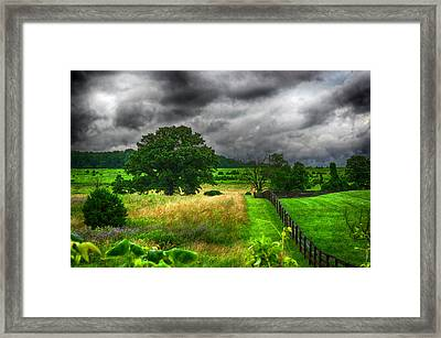 Fenced Out Framed Print by Ryan Crane