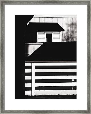 Fences Framed Print