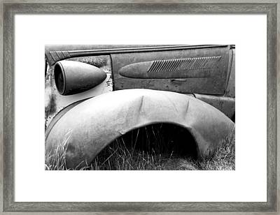 Fender Bender 2 Framed Print by Jim Snyder