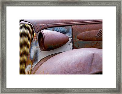 Fender Bender Framed Print by Jim Snyder