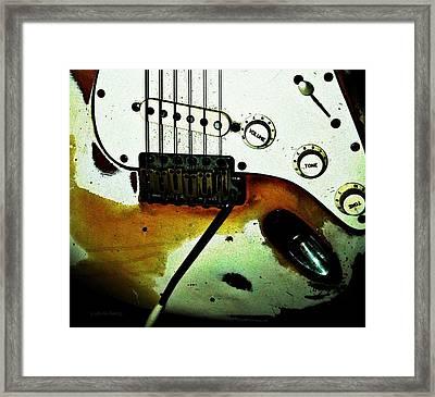 Fender Detail  Framed Print by Chris Berry