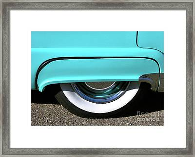 Fender What - 1955 Ford Framed Print