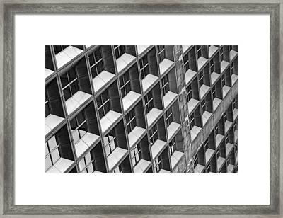 Fenetres Framed Print